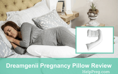 Dreamgenii Pregnancy Pillow Review [2in1 Pillow]